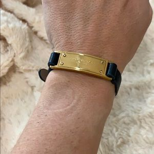 Michael Kors leather bracelet